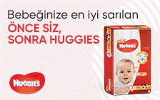 Huggies Bebek Bezlerinde İnternete Özel Kampanya