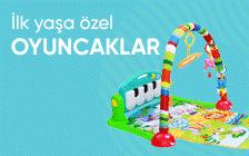 Bebek oyuncakları 10 TL'den başllayan fiyatlarla