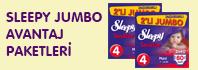 Sleepy Jumbo Avantaj Paketleri
