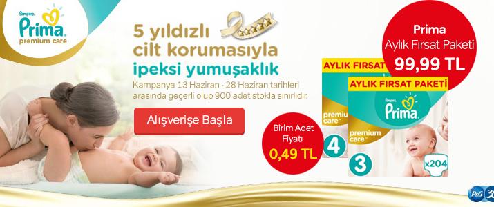 Prima Premium Care Aylık Paket