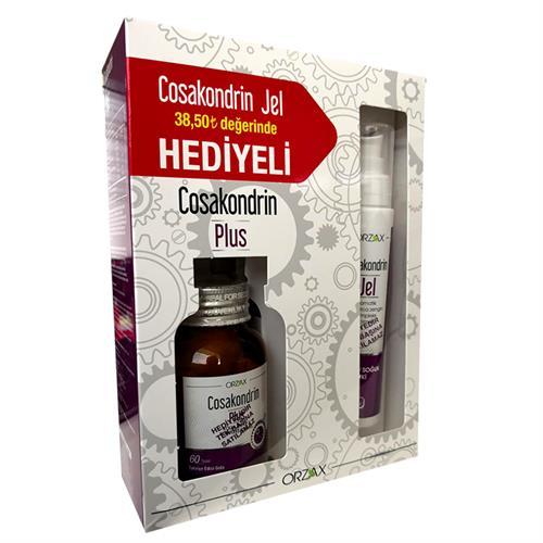 Orzax Cosakondrin Plus 60 Tablet + Cosakondrin Jel 100 ml Hediyeli