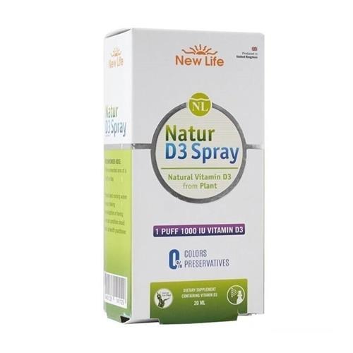 New Life Natur D3 1000 IU Spray 20 ml