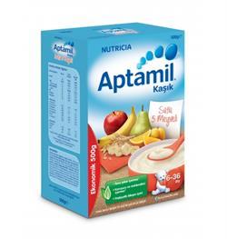 Aptamil Sütlü 5 Meyveli 500 gr Kaşık Maması