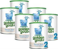 Golden Goat 2 Keçi Sütü Bazlı Devam Sütü 6'lı 400 gr