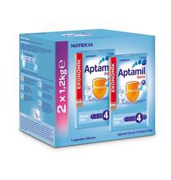 Aptamil 4 Devam Sütü 2'li 1200 gr