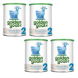 Golden Goat 2 Keçi Sütü Bazlı Devam Sütü 4'lü 400 gr