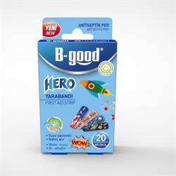 B-Good Hero Çocuk Yara Bandı 20 li