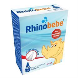 Rhinobebe Ekstra Yumuşak Aspiratör 20 Adet Yedek Ucu