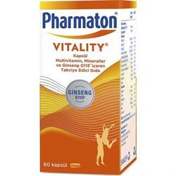 Pharmaton Vitality 60 Kapsül
