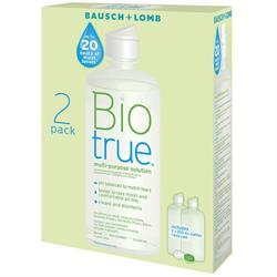 Bio True 2'li Paket 300 ml Lens Solüsyonu