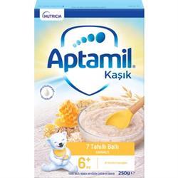 Aptamil 7 Tahıllı ve Ballı Kahvaltılık Kaşık Maması 250 gr