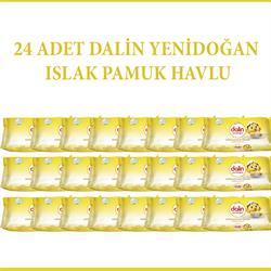Dalin Yenidoğan 24'Paket Islak Mendil