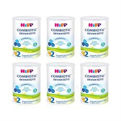 Hipp 2 Combiotic Organik Devam Sütü 6'lı 350 gr
