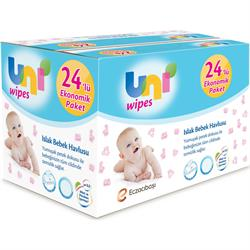 Uni Baby Wipes 24'lü 1440 Yaprak Islak Havlu