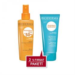 Bioderma Photoderm Max Sprey Spf 50+ 200 ml + After Sun 100 ml