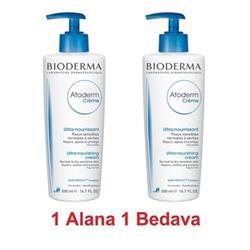 Bioderma Atoderm Cream 500 ml 1+1 Vücut Kremi