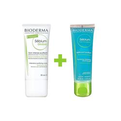 Bioderma Sebium Global 30 ml + Sebium Foaming Gel 45 ml Gözenek Kremi