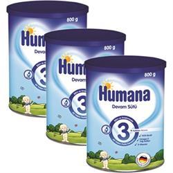 Humana 3 Devam Sütü 3'lü 800 gr