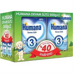 Humana 3 Devam Sütü 2'li 800 gr