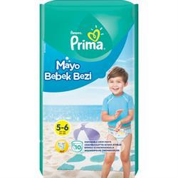 Prima Large 14+ kg 10 Adet Mayo Bebek Bezi
