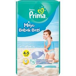 Prima Medium 9-15 kg 11 Adet Mayo Bebek Bezi