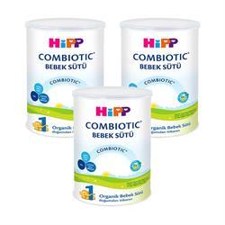 Hipp 1 Combiotic Organik Bebek Sütü 3'lü 350 gr