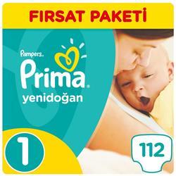 Bebek Bezi Yeni Bebek 1 Beden Yenidoğan Fırsat Paketi 112 Adet