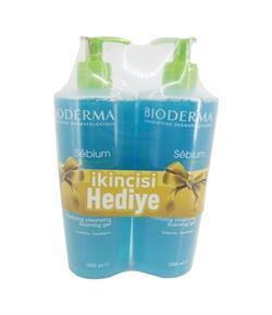 Bioderma Bioderma Sebium Foaming Gel 500 ml 1+1 Yüz Temizleme