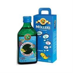 Möller's Omega 3 250 ml Balık Yağı Şurubu