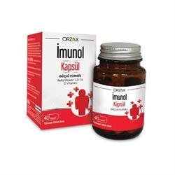 İmunol 40 Kapsül Vitamin-Mineral