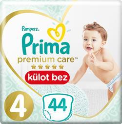 Prima Premium Care Külot 4 Beden Maxi 44 Adet Bebek Bezi