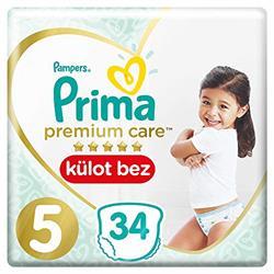 Prima Premium Care Külot 5 Beden Junior 34 Adet Bebek Bezi