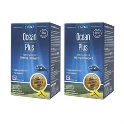 Ocean Plus 1200 mg 2 Adet 50 Kapsül Balık Yağı