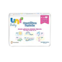 Uni Baby Oyna Öğren 52 Yaprak 3'lü Paket Islak Mendil