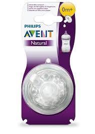 Philips Avent Philips Avent SCF651/27 Natural Yenidoğan 0 Ay+ Biberon Emziği