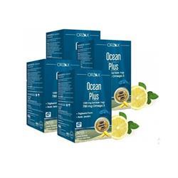 Ocean Plus 1200 mg 4'lü 50 Kapsül Balık Yağı (2 Alana 2 Bedava)