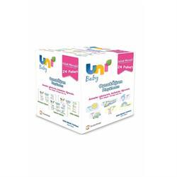 Uni Baby Oyna Öğren 52 Yaprak 24'lü Paket Islak Mendil