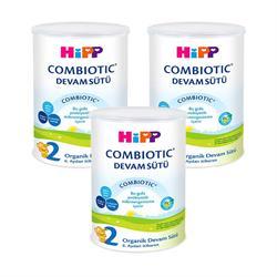 Hipp 2 Combiotic Organik Devam Sütü 3'lü 350 gr