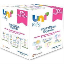 Uni Baby Oyna Öğren 52 Yaprak 12'li Paket Islak Mendil