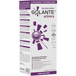 Solante Actinica Sun Care Lotion Spf 50+ 150 ml Çok Hassas Ciltler Güneş Losyonu