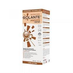 Solante Pigmenta Tinted Sun Care Lotion Spf 50+ 150 ml Koyu Lekelere Renkli Güneş Losyonu