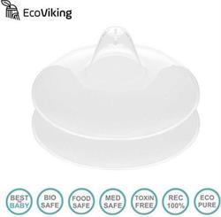 EcoViking Göğüs Pompası için Süt Saklama Kabı 2'li
