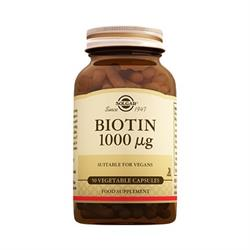 Solgar Biotin 1000 Mg 50 Kapsül