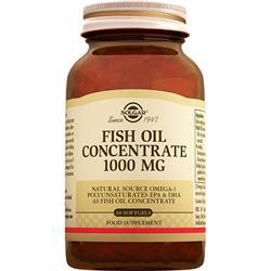 Solgar Fish Oil 1000 mg 60 Kapsül