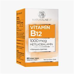 NaturalNest Vitamin B12 60 Tablet