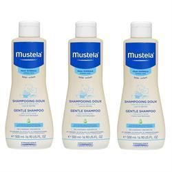 Mustela Gentle Shampoo Bebek Şampuanı 500 ml * 3 Adet
