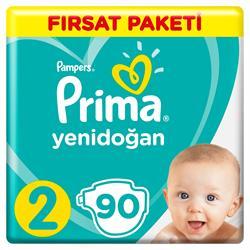Prima Aktif Bebek 2 Numara Mini 90 Adet Fırsat Paketi Bebek Bezi
