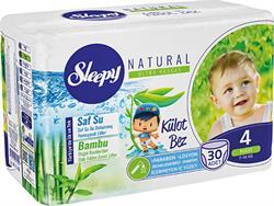 Sleepy Natural 4 Numara Maxi 30'lu Külot Bez