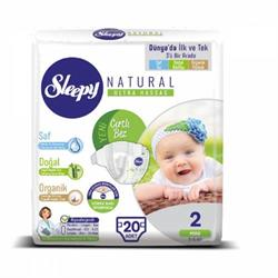 Sleepy Natural 2 Numara 20 Adet (3-6 kg)