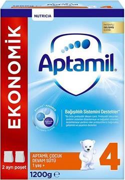 Aptamil 4 Devam Sütü 1200 gr